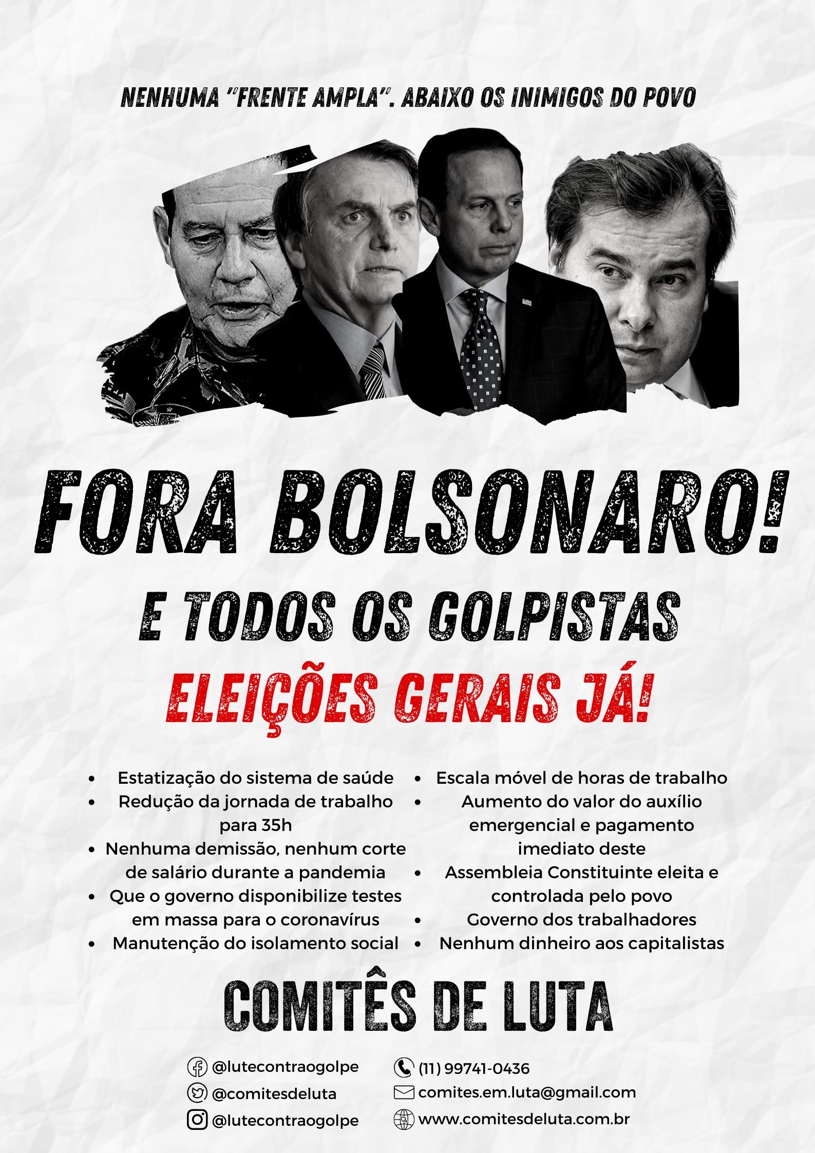 FORA BOLSONARO!